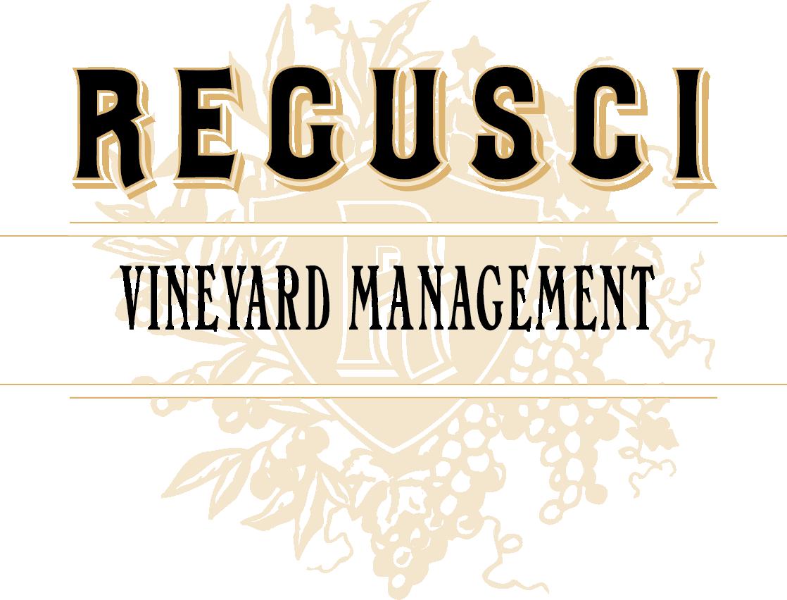 Regusci Vineyard Management Logo